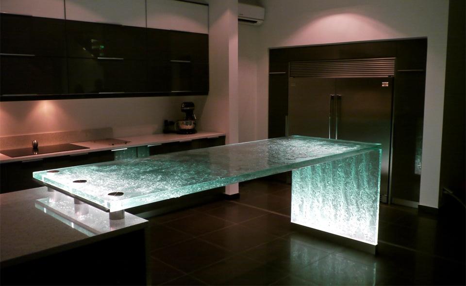 Encimeras de Cristal con Clase para hacer que su Cocina Sorprendente 7